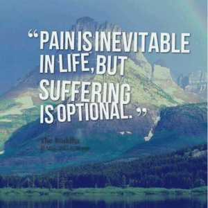 Pain is